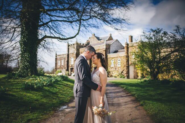 Irish castle wedding photographer